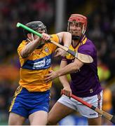 2 February 2020; Tony Kelly of Clare in action against Paul Morris of Wexford during the Allianz Hurling League Division 1 Group B Round 2 match between Wexford and Clare at Chadwicks Wexford Park in Wexford. Photo by Ray McManus/Sportsfile