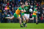 2 February 2020; Hugh McFadden of Donegal in action against Thomas O'Reilly of Meath during the Allianz Football League Division 1 Round 2 match between Meath and Donegal at Páirc Tailteann in Navan, Meath. Photo by Daire Brennan/Sportsfile