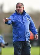 2 February 2020; Monaghan manager Seamus McEnaney during the Allianz Football League Division 1 Round 2 match between Monaghan and Tyrone at St. Mary's Park in Castleblayney, Monaghan. Photo by Oliver McVeigh/Sportsfile