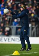 2 February 2020; Meath manager Andy McEntee ahead of the Allianz Football League Division 1 Round 2 match between Meath and Donegal at Páirc Tailteann in Navan, Meath. Photo by Daire Brennan/Sportsfile