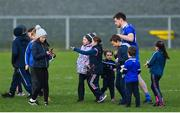 2 February 2020; Conor McManus of Monaghan after signing autographs for young supporters as he comes off the field after the Allianz Football League Division 1 Round 2 match between Monaghan and Tyrone at St. Mary's Park in Castleblayney, Monaghan. Photo by Oliver McVeigh/Sportsfile