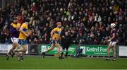 2 February 2020; Clare captain John Conlon, 14, leaves the field after he was shown a red card during the Allianz Hurling League Division 1 Group B Round 2 match between Wexford and Clare at Chadwicks Wexford Park in Wexford. Photo by Ray McManus/Sportsfile