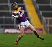 2 February 2020; Joe O'Connor of Wexford during the Allianz Hurling League Division 1 Group B Round 2 match between Wexford and Clare at Chadwicks Wexford Park in Wexford. Photo by Ray McManus/Sportsfile