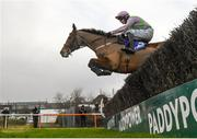2 February 2020; Faugheen, with Paul Townend up, jumps the last, first time round, on their way to winning the Flogas Novice Steeplechase on Day Two of the Dublin Racing Festival at Leopardstown Racecourse in Dublin. Photo by Harry Murphy/Sportsfile