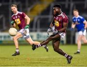 1 February 2020; Boidu Sayeh of Westmeath during the Allianz Football League Division 2 Round 2 match between Cavan and Westmeath at Kingspan Breffni in Cavan. Photo by Oliver McVeigh/Sportsfile