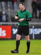 2 February 2020; Referee David Hughes during the Allianz Hurling League Division 1 Group B Round 2 match between Dublin and Laois at Parnell Park in Dublin. Photo by Brendan Moran/Sportsfile