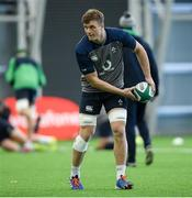 4 February 2020; Josh van der Flier during Ireland Rugby squad training at the IRFU High Performance Centre at the Sport Ireland Campus in Dublin. Photo by Ramsey Cardy/Sportsfile