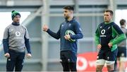4 February 2020; Assistant coach Mike Catt, left, wih Conor Murray, centre, and CJ Stander during Ireland Rugby squad training at the IRFU High Performance Centre at the Sport Ireland Campus in Dublin. Photo by Ramsey Cardy/Sportsfile