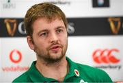4 February 2020; Iain Henderson during an Ireland Rugby press conference at the IRFU High Performance Centre at the Sport Ireland Campus in Dublin. Photo by Ramsey Cardy/Sportsfile