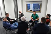 4 February 2020; CJ Stander during an Ireland Rugby press conference at the IRFU High Performance Centre at the Sport Ireland Campus in Dublin. Photo by Ramsey Cardy/Sportsfile