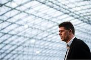 5 February 2020; FAI Interim Deputy Chief Executive Niall Quinn during the launch of the 2020 SSE Airtricity League season at the Sport Ireland National Indoor Arena in Dublin. Photo by Stephen McCarthy/Sportsfile