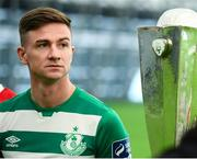 5 February 2020; Ronan Finn of Shamrock Rovers during the launch of the 2020 SSE Airtricity League season at the Sport Ireland National Indoor Arena in Dublin. Photo by Stephen McCarthy/Sportsfile