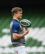 7 February 2020; Josh van der Flier during the Ireland Rugby captain's run at the Aviva Stadium in Dublin. Photo by Ramsey Cardy/Sportsfile