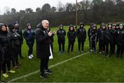 7 February 2020; FAI President Gerry McAnaney with UEFA B Licence participants during a UEFA Female-only B Licence Coaching Course at Fota Island Resort, Cork. Photo by Matt Browne/Sportsfile