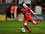 7 February 2020; Alex O'Hanlon of Shelbourne during the pre-season friendly match between Shelbourne and Bray Wanderers at Tolka Park in Dublin. Photo by Ben McShane/Sportsfile