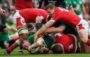 8 February 2020; Tadhg Furlong of Ireland dives over to score his side's second try during the Guinness Six Nations Rugby Championship match between Ireland and Wales at the Aviva Stadium in Dublin. Photo by Ramsey Cardy/Sportsfile