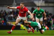 8 February 2020; Johnny McNicholl of Wales is tackled by Conor Murray of Ireland during the Guinness Six Nations Rugby Championship match between Ireland and Wales at Aviva Stadium in Dublin. Photo by David Fitzgerald/Sportsfile