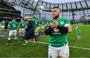 8 February 2020; Andrew Porter of Ireland after the Guinness Six Nations Rugby Championship match between Ireland and Wales at Aviva Stadium in Dublin. Photo by Brendan Moran/Sportsfile