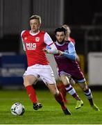 7 February 2020; Chris Forrester of St Patrick's Athletic during the pre-season friendly match between St Patrick's Athletic and Drogheda United at Richmond Park in Dublin. Photo by Seb Daly/Sportsfile