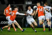 8 February 2020; Mick O'Grady of Kildare in action against Aidan Nugent of Armagh during the Allianz Football League Division 2 Round 3 match between Armagh and Kildare at Athletic Grounds in Armagh. Photo by Piaras Ó Mídheach/Sportsfile