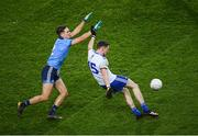 8 February 2020; Conor McManus of Monaghan in action against Michael Fitzsimons of Dublin during the Allianz Football League Division 1 Round 3 match between Dublin and Monaghan at Croke Park in Dublin. Photo by Stephen McCarthy/Sportsfile