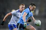 8 February 2020; Dara Mullin of Dublin in action against Ryan Wylie of Monaghan during the Allianz Football League Division 1 Round 3 match between Dublin and Monaghan at Croke Park in Dublin. Photo by Seb Daly/Sportsfile