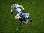 8 February 2020; John Small of Dublin in action against Conor McManus of Monaghan during the Allianz Football League Division 1 Round 3 match between Dublin and Monaghan at Croke Park in Dublin. Photo by Stephen McCarthy/Sportsfile