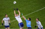 8 February 2020; Darren Hughes of Monaghan in action against Michael Fitzsimons of Dublin during the Allianz Football League Division 1 Round 3 match between Dublin and Monaghan at Croke Park in Dublin. Photo by Stephen McCarthy/Sportsfile
