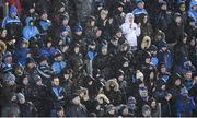 8 February 2020; Supporters on Hill 16 during the Allianz Football League Division 1 Round 3 match between Dublin and Monaghan at Croke Park in Dublin. Photo by Stephen McCarthy/Sportsfile