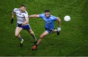 8 February 2020; Brian Howard of Dublin in action against Philip Donnelly of Monaghan during the Allianz Football League Division 1 Round 3 match between Dublin and Monaghan at Croke Park in Dublin. Photo by Stephen McCarthy/Sportsfile