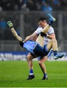 8 February 2020; Shane Carey of Monaghan tussles with Eoin Murchan of Dublin off the ball during the Allianz Football League Division 1 Round 3 match between Dublin and Monaghan at Croke Park in Dublin. Photo by Seb Daly/Sportsfile
