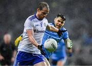 8 February 2020; Conor Boyle of Monaghan in action against Kevin McManamon of Dublin during the Allianz Football League Division 1 Round 3 match between Dublin and Monaghan at Croke Park in Dublin. Photo by Seb Daly/Sportsfile