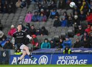8 February 2020; Rory Beggan of Monaghan kicks a point during the Allianz Football League Division 1 Round 3 match between Dublin and Monaghan at Croke Park in Dublin. Photo by Seb Daly/Sportsfile