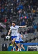 8 February 2020; Conor McManus of Monaghan kicks a point during the Allianz Football League Division 1 Round 3 match between Dublin and Monaghan at Croke Park in Dublin. Photo by Seb Daly/Sportsfile