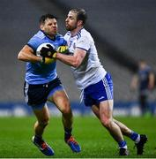 8 February 2020; Kevin McManamon of Dublin in action against Conor Boyle of Monaghan during the Allianz Football League Division 1 Round 3 match between Dublin and Monaghan at Croke Park in Dublin. Photo by Ray McManus/Sportsfile