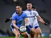 8 February 2020; John Small of Dublin in action against Dessie Ward of Monaghan during the Allianz Football League Division 1 Round 3 match between Dublin and Monaghan at Croke Park in Dublin. Photo by Ray McManus/Sportsfile
