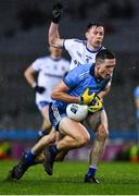 8 February 2020; Brian Fenton of Dublin is tackled by Karl O'Connell of Monaghan during the Allianz Football League Division 1 Round 3 match between Dublin and Monaghan at Croke Park in Dublin. Photo by Ray McManus/Sportsfile