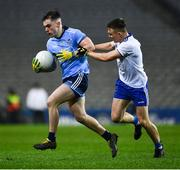 8 February 2020; Dan O'Brien of Dublin in action against Conor McCarthy of Monaghan during the Allianz Football League Division 1 Round 3 match between Dublin and Monaghan at Croke Park in Dublin. Photo by Ray McManus/Sportsfile