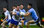 8 February 2020; Ryan Wylie of Monaghan in action against David Byrne of Dublin during the Allianz Football League Division 1 Round 3 match between Dublin and Monaghan at Croke Park in Dublin. Photo by Ray McManus/Sportsfile