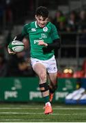 7 February 2020; Andrew Smith of Ireland during the U20 Six Nations Rugby Championship match between Ireland and Wales at Irish Independent Park in Cork. Photo by Harry Murphy/Sportsfile