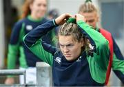 9 February 2020; Beibhinn Parsons of Ireland walks out for the warm-up prior to the Women's Six Nations Rugby Championship match between Ireland and Wales at Energia Park in Dublin. Photo by Ramsey Cardy/Sportsfile