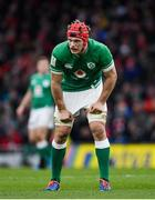 8 February 2020; Josh van der Flier of Ireland during the Guinness Six Nations Rugby Championship match between Ireland and Wales at the Aviva Stadium in Dublin. Photo by Ramsey Cardy/Sportsfile