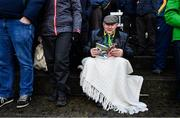 9 February 2020; Kerry supporter Mike Allen from Firies, Co Kerry prior to the Allianz Football League Division 1 Round 3 match between Tyrone and Kerry at Edendork GAC in Dungannon, Co Tyrone. Photo by David Fitzgerald/Sportsfile
