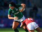 9 February 2020; Lindsay Peat of Ireland is tackled by Kerin Lake of Wales during the Women's Six Nations Rugby Championship match between Ireland and Wales at Energia Park in Dublin. Photo by Ramsey Cardy/Sportsfile