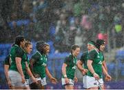 9 February 2020; Ireland captain Ciara Griffin, right, and her team-mates look on during the Women's Six Nations Rugby Championship match between Ireland and Wales at Energia Park in Dublin. Photo by Ramsey Cardy/Sportsfile
