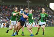 9 February 2020; Aidan O'Shea of Mayo in action against Cillian O'Sullivan, Robin Clarke and Ronan Ryan of Meath during the Allianz Football League Division 1 Round 3 match between Meath and Mayo at Páirc Tailteann in Navan, Meath. Photo by Seb Daly/Sportsfile