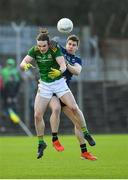 9 February 2020; Cillian O'Sullivan of Meath in action against Lee Keegan of Mayo during the Allianz Football League Division 1 Round 3 match between Meath and Mayo at Páirc Tailteann in Navan, Meath. Photo by Seb Daly/Sportsfile