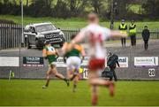 9 February 2020; Spectators watch the game from their car during the Allianz Football League Division 1 Round 3 match between Tyrone and Kerry at Edendork GAC in Dungannon, Co Tyrone. Photo by David Fitzgerald/Sportsfile