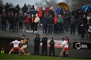 9 February 2020; Spectators look on during the Allianz Football League Division 1 Round 3 match between Tyrone and Kerry at Edendork GAC in Dungannon, Co Tyrone. Photo by David Fitzgerald/Sportsfile
