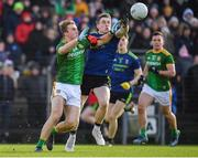 9 February 2020; Shane Walsh of Meath in action against Patrick Durcan of Mayo during the Allianz Football League Division 1 Round 3 match between Meath and Mayo at Páirc Tailteann in Navan, Meath. Photo by Seb Daly/Sportsfile
